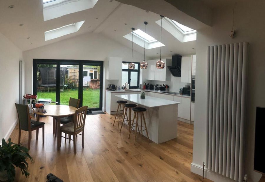 Loft, Extension & Full Refurbishment – Stoneleigh Gallery